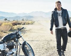 sucker for a hot guy with a motorcycle :)