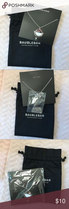 Baublebar Silver Necklace Beautiful Baublebar necklace. Brand New, never used, no damages.                                                                     📍Offers are Always Welcome baublebar Jewelry Necklaces