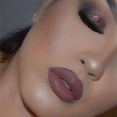 ✨✨🍂 . . . @eyekandycosmetics glitter in 'Sugar Plum'. @anastasiabeverlyhills dipbrow in 'Ebony'. @measurabledifference #poshmatte liquid lipstick in 'Opera'. @anastasiabeverlyhills glow kit. @morphebrushes 35N palette.  #beauty #glam #wakeupandmakeup #measurabledifference #anastasiabeverlyhills #abh #abhglow #norvina #eyekandy #eyekandycosmetics #hudabeauty #newyearseveglam #inspired #mua #brianchampagne #morphe #morphebrushes