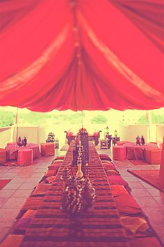 Another Moroccan themed reception