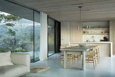 Paulsen Nilsen Scandinavian Interior, Scandinavian Style, Dining Room Chairs, Dining Table, Summer Cabins, Summer Houses, Lighting Concepts, Light Well, Light Architecture