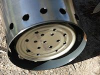 Paint Can Wood Gasifier : DIY wood gasification stove - 1qt paint can  Wood gasification ...