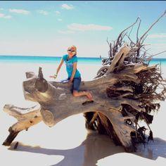 Beautiful beach in Freeport Bahamas