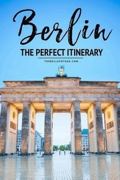 Berlin Germany – The Perfect Itinerary For First-Timers | Berlin Travel Guide | Things to Do in Berlin Germany | Berlin travel | Berlin food | What to see in Berlin | What to do in Berlin Germany | Berlin vacation #berlin #germany #itinerary via @thebellevoyage #germanytravel