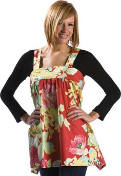 Perfect for the cooking fashionista, theLillyApronlends itself to todays  hottest fabrics. Large scale floral and graphic designs look fresh and fun!  You will be one cute cookie in the kitchen!  One size, custom fit  Skill Level: Advanced Beginner