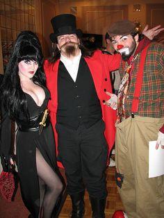 Elvira, ringmaster & hobo