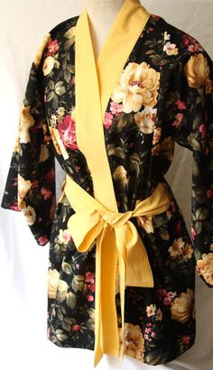 Cute robe to wear during hair and makeup