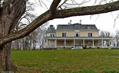 Rokeby, a 420-acre estate in Barrytown, Dutchess Co., Hudson Valley, New York, has been owned by the Astors for nearly 180 years. In 1836, businessman William Backhouse Astor Sr. bought Rokeby from his wife's family. The 43-room main house was built in 1815 & then added to by every new owner so that it came to represent the classic 'American Gothic style.' Today it remains home to a slew of less-than-wealthy heirs to the Astor & Livingston fortunes