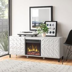 Ebern Designs Chamisa Swivel Bar & Counter Stool & Reviews | Wayfair Chaise Sofa, Sectional Sofa, Hidden Hinges, Electric Fireplace Insert, Fireplace Inserts, Counter Stools, Bar Counter, Bar Stools, Wood Cabinets