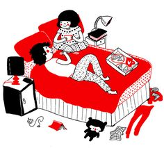 ilustraciones pareja felicidad (3)