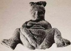 Greek figure of Baubo (goddess of laughter)