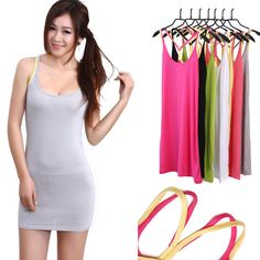 Find More Tank Tops Information about Womens modal color strap  Long section  Y shaped strap vest tanks 1709,High Quality vest long,China veste Suppliers, Cheap vest coat from topsellerworld on Aliexpress.com