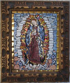 Our Lady of Guadalupe. Mosaic by DonnaHollanderMosaic on Etsy, $1200.00