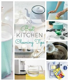 20 Best Kitchen Cleaning Tips