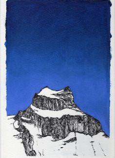 Montagnes - Hannen -, JfR Jean-François Réveillard