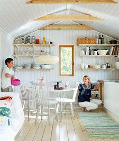 HOME & GARDEN: Коттедж в Швеции