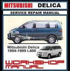 mitsubishi delica pdf service, workshop and repair manuals, wiring diagrams,  spare parts catalogue, fault codes free download