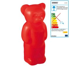 gotta love this large gummy bear light from connox