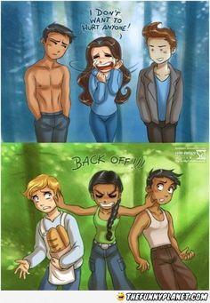 Twilight Vs Hunger Games