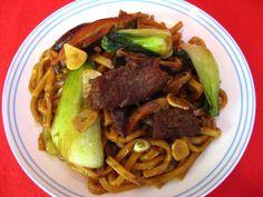 Beef Shanghai Noodles (牛肉上海麵)