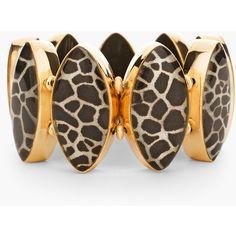 Chico's Nala Stretch Bracelet (€8,95) ❤ liked on Polyvore featuring jewelry, bracelets, neutral, stretch jewelry, pendant jewelry, giraffe pendant, chicos jewelry and giraffe jewelry
