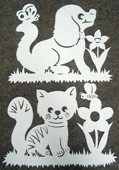 Glass Painting Designs, Paint Designs, Fairy Jars, Arts And Crafts, Paper Crafts, Wood Carving Patterns, Scroll Pattern, Easter Art, Animal Coloring Pages
