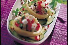 Salade de fonds d'artichauts au chèvre frais