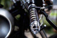 Amazing Creation of a Samurai Motorcycle. A Silverbullet Cafe Racer Designed by SHENFU (Thanh Ho Ngo, Graz). Most beautiful Kawasaki LTD 450 by Austrian Custom Garage Titan Motorcycle Company. Gorgeous Tarantino Bike. True Samurai Bike. Stingray Handlebar. Bike for Cancer Kids. Charity. Japanese Heritage . . . . #titanmotorcycles #custom #motorcycle #handcrafted #austria #caferacer #vintage #bikes #lifestyle #motorrad #markyourterritory #classic #vintage » #kawasaki #ltd450 #450… Custom Garages, Custom Bikes, Kids Charity, Motorcycle Workshop, Motorcycle Companies, Vintage Bikes, Classic, Design, Graz
