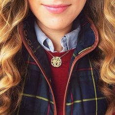 I love layering, and this monogram necklace is something I would definitely wear.