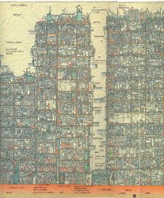 Kowloon Walled City - Plan