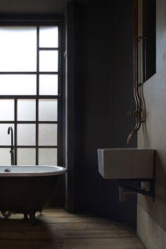 Bathroom Design East London ironmongers' quarters - flat 1 | jonathan tuckey design, hackney