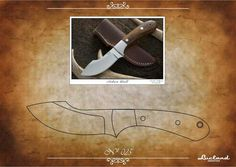 Knife Template, Diy Knife, Knife Patterns, Throwing Knives, Fixed Blade Knife, Custom Knives, Knives And Swords, Knife Making, Metal Working