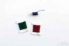 Miniature sewing kit by Alicia Sivertsson, 2016.