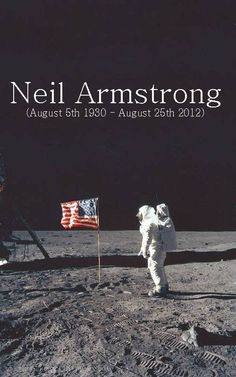 Neil Armstrong RIP 8/25/12