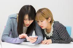 ナタリー - [Power Push] ℃-ute au「ブックパス」インタビュー (1/2) / 左から矢島舞美、岡井千聖。
