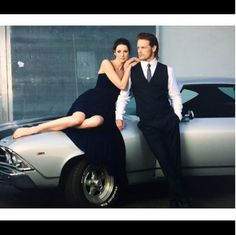Here is a new/old pic of Sam Heughan and Caitriona Balfe Source
