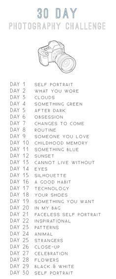 30 Day Photo Challenge for September?