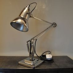 Anglepoise Lamp 1950's Deco Retro English Design Classic  #ArtDecoArtModerne #Lamps