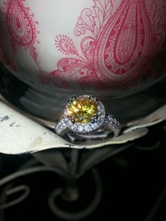 Ring I found in my candle from Jewelscent-candles with jewelry inside...get yours at  www.jewelscent.com/candlecrzymama