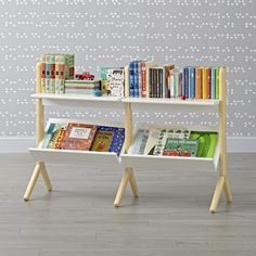 Shop Crate and Barrel for high quality kids furniture; including kids bedroom furniture, baby furniture for your nursery, playroom furniture and more. Playroom Furniture, White Bedroom Furniture, Furniture Layout, Baby Furniture, Cheap Furniture, Furniture Market, Deco Furniture, Furniture Online, Small White Bookcase