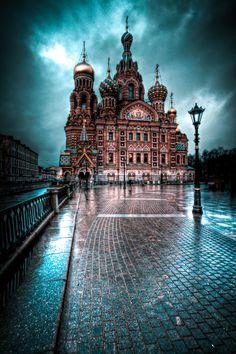 Khram Spasa na Krovi, St. Petersburg, Russia