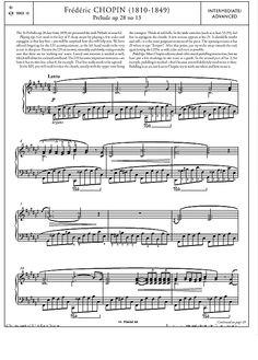 Prélude Op.28 No.13 >>> KLICK auf die Noten um Reinzuhören <<<