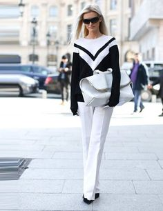 all about this black and white look