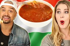 People Try Hungarian Food For The First Time - Easy Ethnic Recipes Health Snacks, Health Eating, Hungarian Recipes, Hungarian Food, Buzzfeed Video, Sunday Meal Prep, Healthy Shopping, Healthy Food Delivery, Restaurant Week