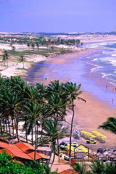 Fortaleza praia de Jericoacoara - Brazil