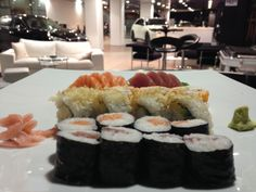 maki, rolls, sashimi you can enjoy them in our INFINITI LOUNGE. Madrid, Mirasierra.