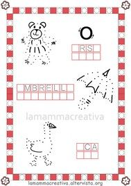 Disegniamo l'alfabeto|Lamammacreativa Calendar, Writing, Holiday Decor, Words, Alice, Anna, Victoria, Speech Language Therapy