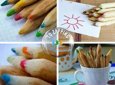 Galletas para niños receta. Hoy os vamos a recomendar esta receta dulce degalletas de lápiz, estas irresistibles galletas se pueden convertir en una