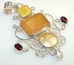 Marvelous Creation Of Sweet Carnelian Sterling Silver Pendant