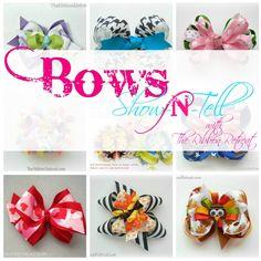 Bows Show-N-Tell - The Ribbon Retreat Blog